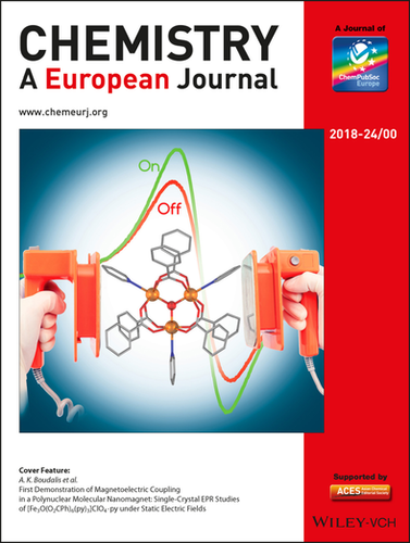 New Article Cover Feature At Chemistry A European Journal
